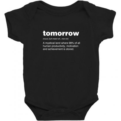Tomorrow Baby Bodysuit Designed By Andr1