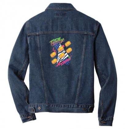 Totally Awesome Men Denim Jacket Designed By Andr1