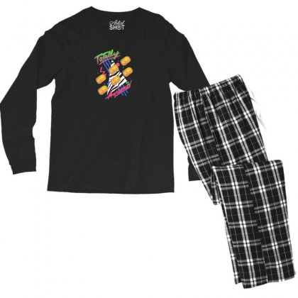 Totally Awesome Men's Long Sleeve Pajama Set Designed By Andr1