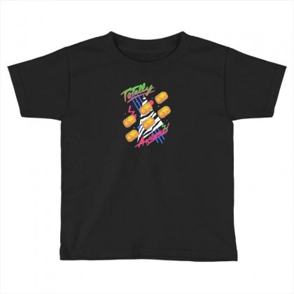 Totally Awesome Toddler T-shirt Designed By Andr1