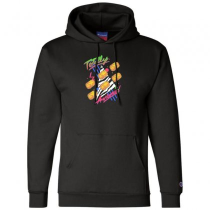 Totally Awesome Champion Hoodie Designed By Andr1