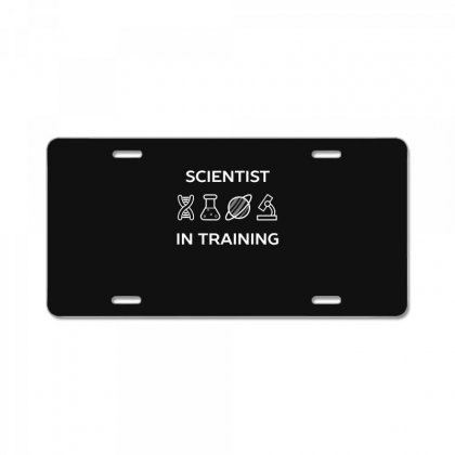 Training To Be A Future Scientist License Plate Designed By Andr1