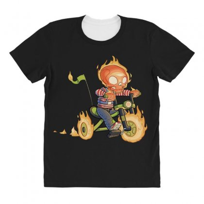Training Wheels Ii All Over Women's T-shirt Designed By Andr1