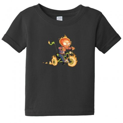 Training Wheels Ii Baby Tee Designed By Andr1