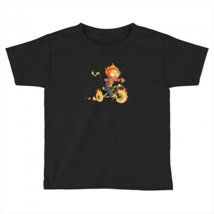 Training Wheels Ii Toddler T-shirt Designed By Andr1