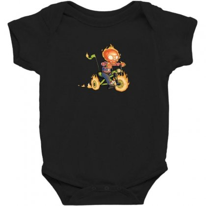 Training Wheels Ii Baby Bodysuit Designed By Andr1