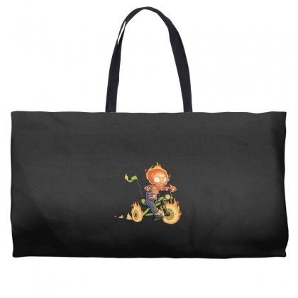 Training Wheels Ii Weekender Totes Designed By Andr1