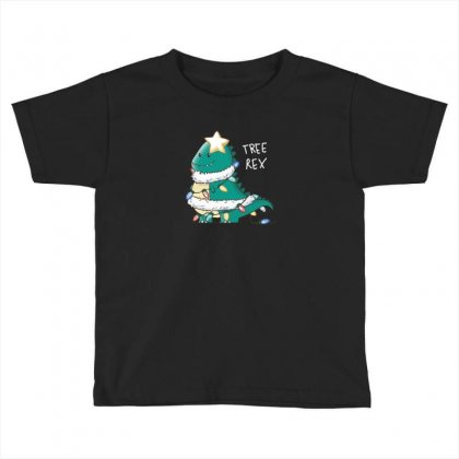 Tree Rex Toddler T-shirt Designed By Andr1