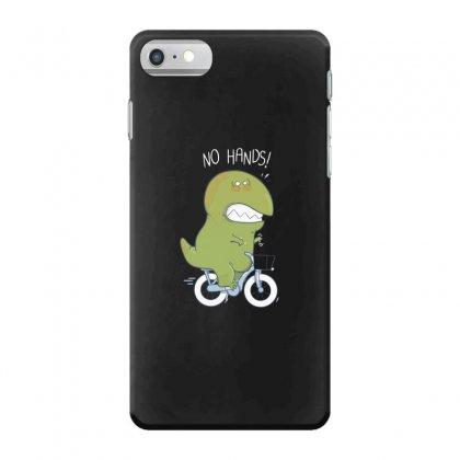 T Rex Tries Biking Iphone 7 Case Designed By Andr1
