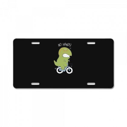 T Rex Tries Biking License Plate Designed By Andr1