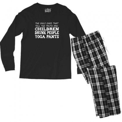 Truth Men's Long Sleeve Pajama Set Designed By Andr1