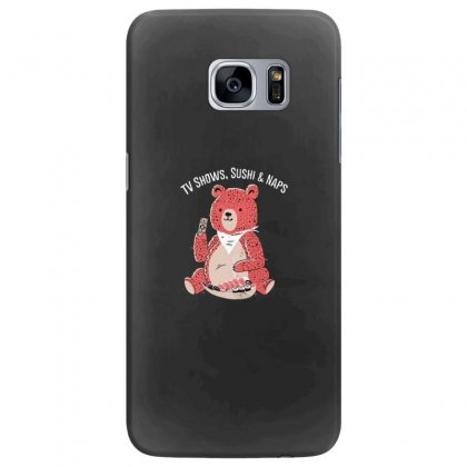 Tv Shows, Sushi & Naps Samsung Galaxy S7 Edge Case Designed By Andr1