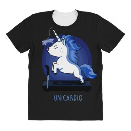 Unicardio All Over Women's T-shirt Designed By Andr1