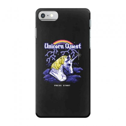 Unicorn Quest Iphone 7 Case Designed By Andr1