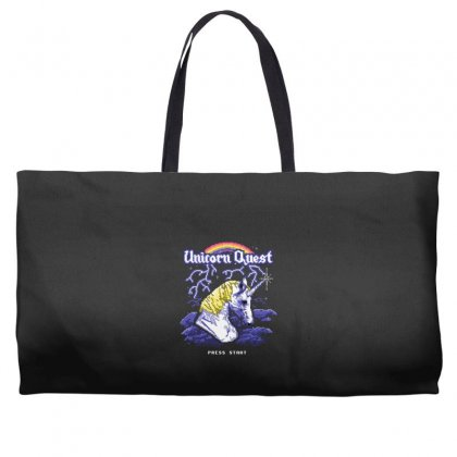 Unicorn Quest Weekender Totes Designed By Andr1