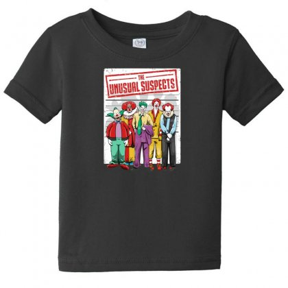 Unusual Suspects Baby Tee Designed By Andr1