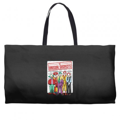 Unusual Suspects Weekender Totes Designed By Andr1