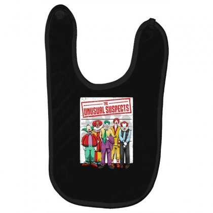 Unusual Suspects Baby Bibs Designed By Andr1