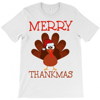 Merry Thankmas T-shirt Designed By Badaudesign