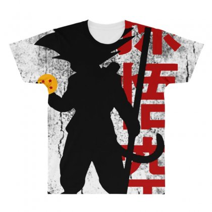 Goku   Dragon Ball Z All Over Men's T-shirt Designed By Pinkanzee