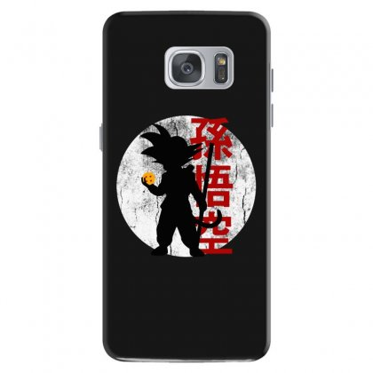 Goku   Dragon Ball Z Samsung Galaxy S7 Case Designed By Pinkanzee