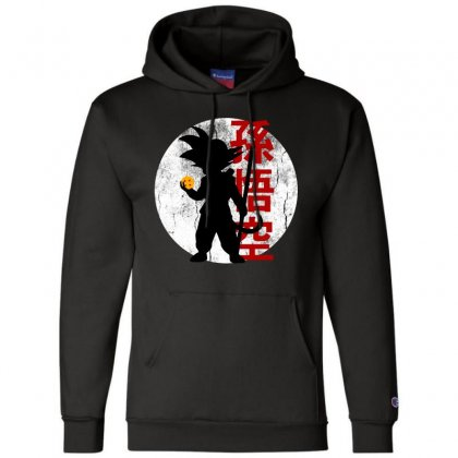 Goku   Dragon Ball Z Champion Hoodie Designed By Pinkanzee