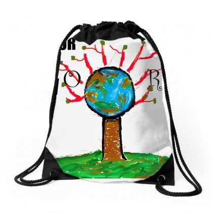 Choose Your World 1 Drawstring Bags Designed By Nad