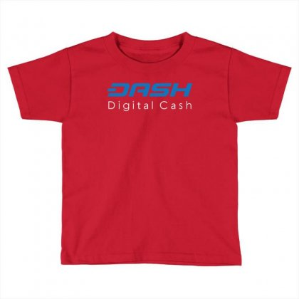 Dash Digital Cash Toddler T-shirt Designed By Butterfly99