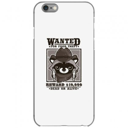 Wanted Racoon Iphone 6/6s Case Designed By Andr1