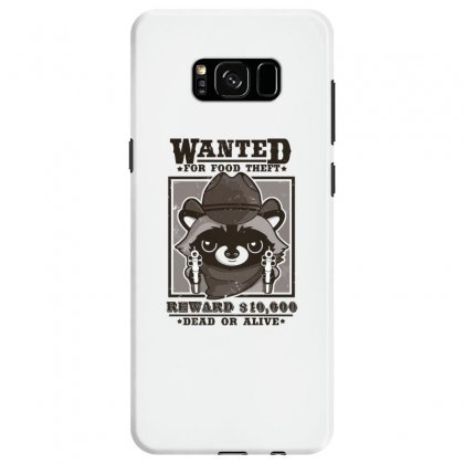 Wanted Racoon Samsung Galaxy S8 Case Designed By Andr1
