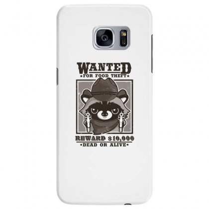 Wanted Racoon Samsung Galaxy S7 Edge Case Designed By Andr1