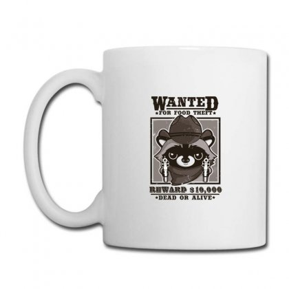 Wanted Racoon Coffee Mug Designed By Andr1