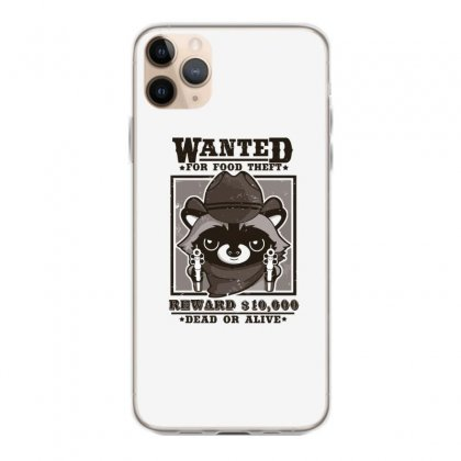 Wanted Racoon Iphone 11 Pro Max Case Designed By Andr1