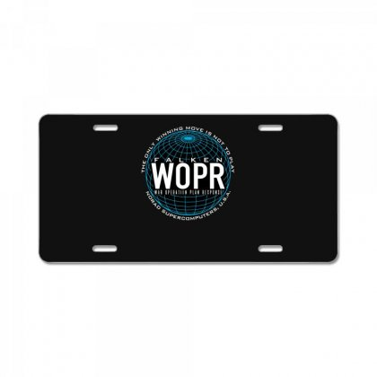 War Supercomputer License Plate Designed By Andr1