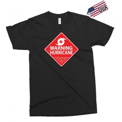 Warning To Hurricane Exclusive T-shirt Designed By Andr1