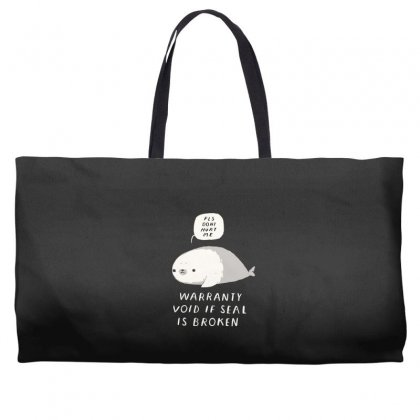 Warranty Void If Seal Is Broken Weekender Totes Designed By Andr1