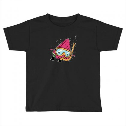 Watermelon Toddler T-shirt Designed By Andr1