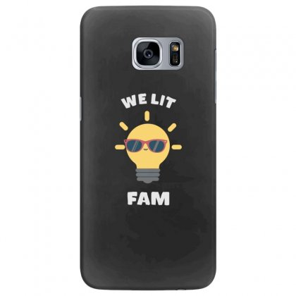 We Lit Fam Funny Meme Samsung Galaxy S7 Edge Case Designed By Andr1
