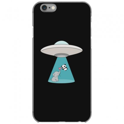 Weird Ufo Panda Bear Abduction Iphone 6/6s Case Designed By Andr1