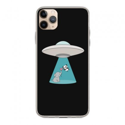 Weird Ufo Panda Bear Abduction Iphone 11 Pro Max Case Designed By Andr1