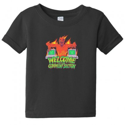 Welcome To The Comment Section Baby Tee Designed By Andr1