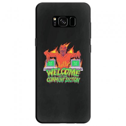 Welcome To The Comment Section Samsung Galaxy S8 Case Designed By Andr1
