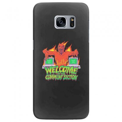 Welcome To The Comment Section Samsung Galaxy S7 Edge Case Designed By Andr1