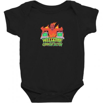 Welcome To The Comment Section Baby Bodysuit Designed By Andr1