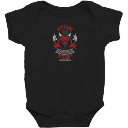 Welcome To The Interne Baby Bodysuit Designed By Andr1