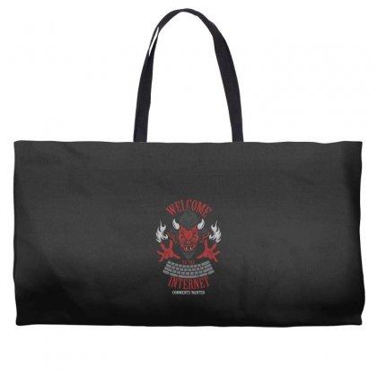 Welcome To The Interne Weekender Totes Designed By Andr1