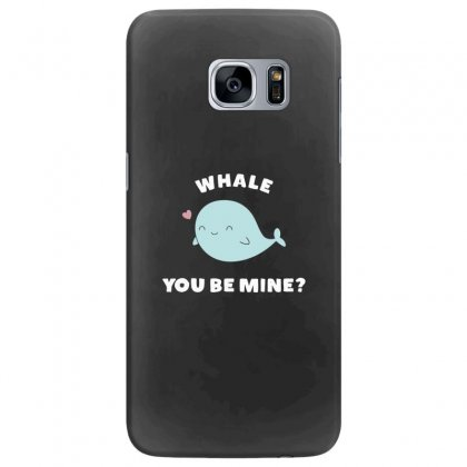 Whale You Be Mine Kawaii Pun Samsung Galaxy S7 Edge Case Designed By Andr1