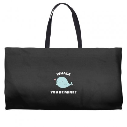 Whale You Be Mine Kawaii Pun Weekender Totes Designed By Andr1