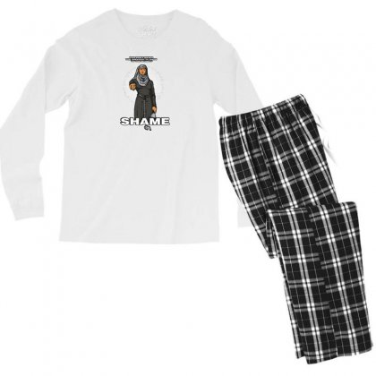 What A Shame Men's Long Sleeve Pajama Set Designed By Andr1