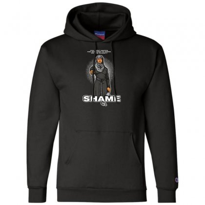 What A Shame Champion Hoodie Designed By Andr1